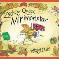 Zachary Quack Mini Monster by Lynley Dodd